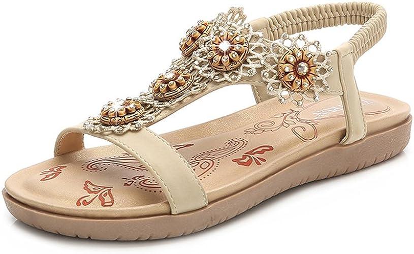 Sandales Boheme Sandales Botte Femmes Sandale Femme à Strass