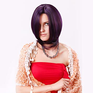 "Stfantasy Wigs for Women Short Straight Heat Friendly Synthetic Hair 14"" 140g Full Wig Peluca"