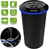 Gulaki Car Diffuser Essential Oils - Multifunction Cool Mist Car Humidifier with 2 USB Port and 1 Car Charger Socket…