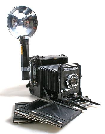 Amazoncom Graflex 4x5 Large Format Press Camera Wfilm Holders