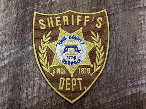 Walking Dead King County Sheriff's Badge Embroidered for sale  Delivered anywhere in USA
