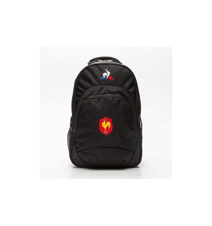 Le Coq Sportif FFR Backpack poliéster Negro 4319
