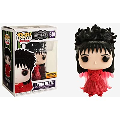 Funko Pop Movies: Beetlejuice - Lydia Deetz in Wedding Dress Collectible Figure, Multicolor: Toys & Games