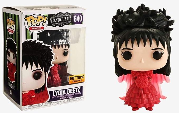 Amazon Com Funko Pop Movies Beetlejuice Lydia Deetz In Wedding Dress Collectible Figure Multicolor Toys Games