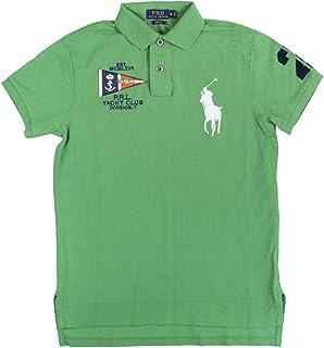 eabc2bae Polo Ralph Lauren Men's Custom Fit Sash Big Pony Shirt-College ...
