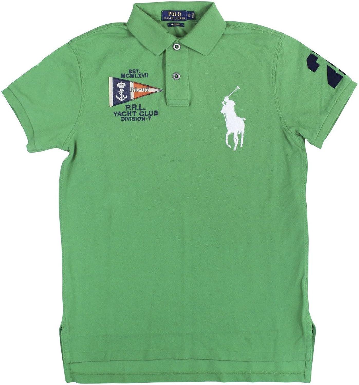 Polo Ralph Lauren Men's Custom-Fit Nautical Polo Shirt at Amazon Men's  Clothing store: