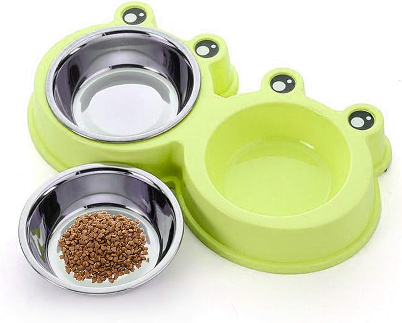 Azul TaimeiMao Comedor Gato,Gato Cuenco,tazones para Gatos antivomitos,Taz/ón de Comida para Gatos Ajustable,Comederos Perros Gatos,Cuenco para Mascotas Transparente
