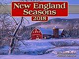 New England Seasons 2018 Calendar