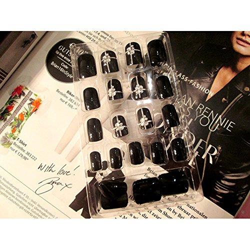 ZXLIFE Nail Stickers Europe And The United States Fake Nail Patch Full Set...