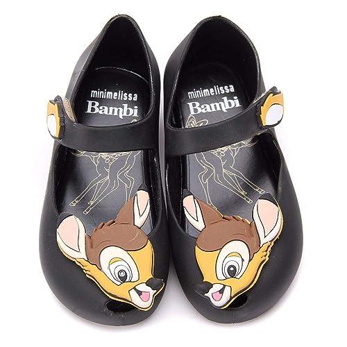 015f01489e01 Mini Melissa Girls Bambi Shoes - Black  Amazon.co.uk  Shoes   Bags