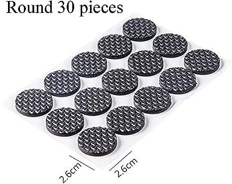 1Pc Adhesive Furniture Chair Table Sofa Leg Feet Non-slip Pads Protector Circle