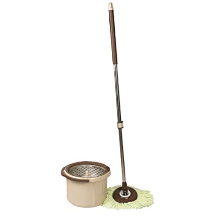 Its Useful Premium Mono-Tub Turbo Spin Wiz Mop – Rinse & Dry in One