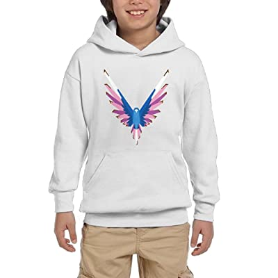 Christina W. Halle Youth Spring Trend Hooded Sweatshirt Logan Paul Logo customization White