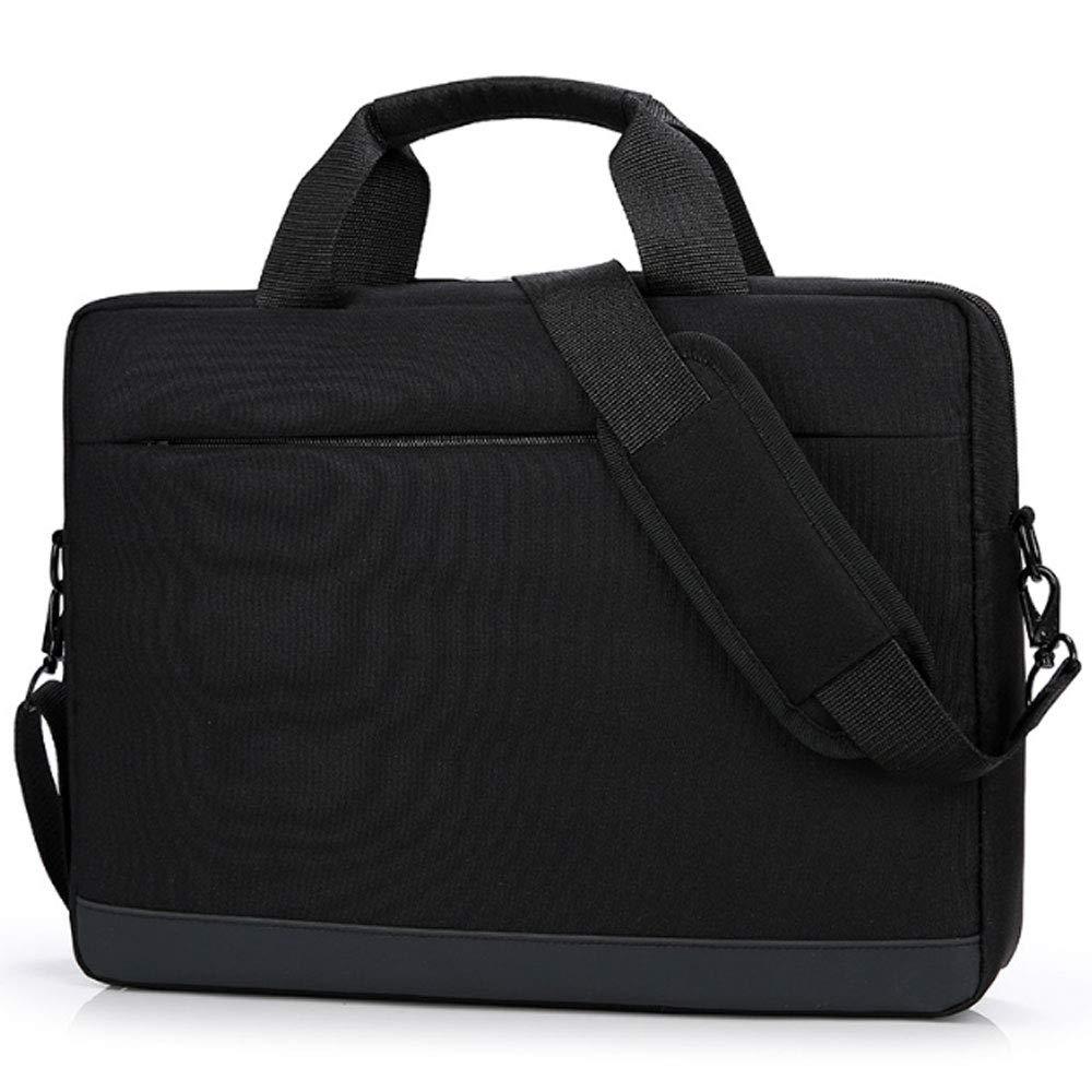 Gyqjs 13-15Inch Laptop Bag Waterproof Wear-Resistant Oxford Cloth Messenger Bag Men Women Multifunctional Cuff Bag Handbag Hand Sleeve Briefcase,C,14Inch