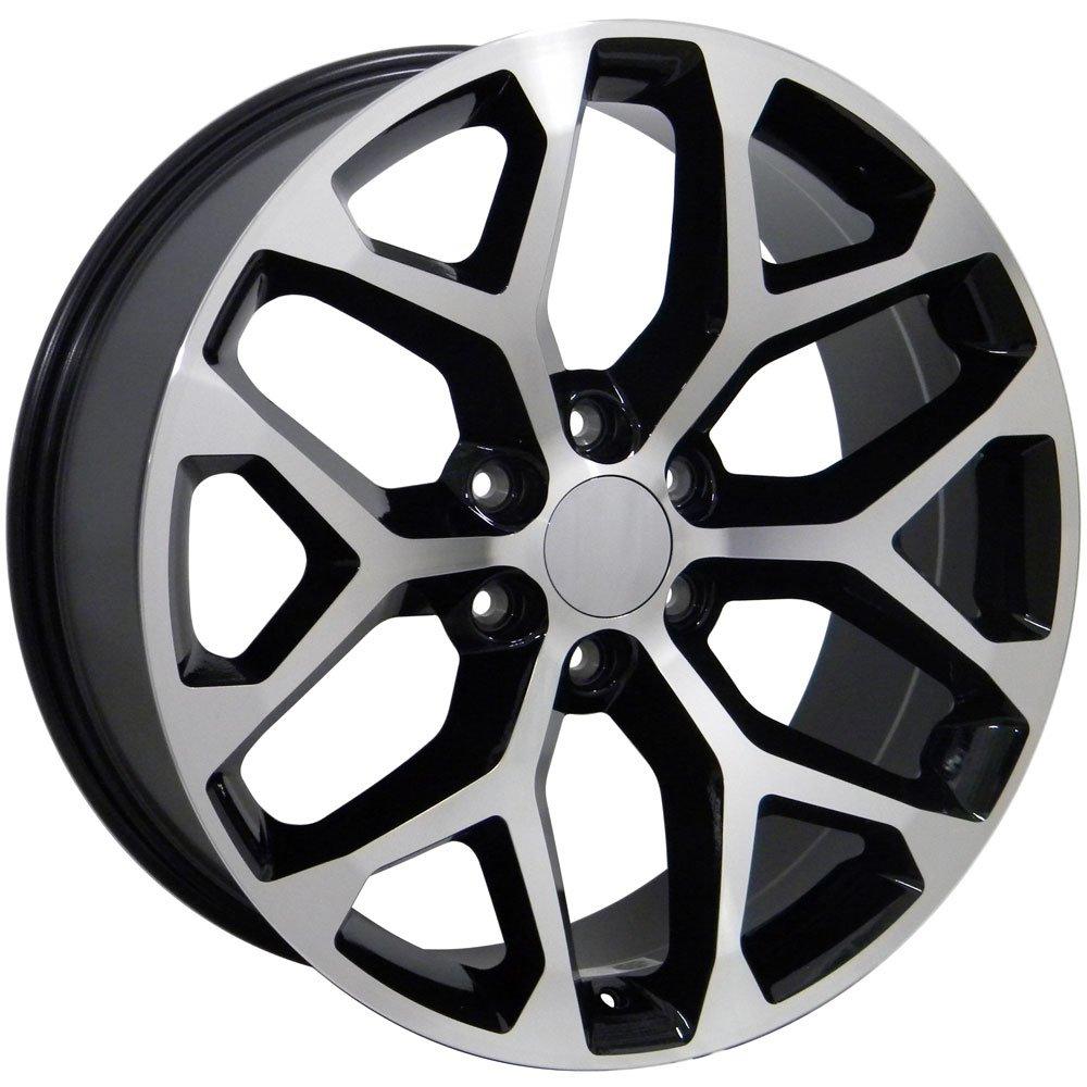 Amazon Com Oe Wheels 20 Inch Fits Chevy Silverado Tahoe Gmc Sierra