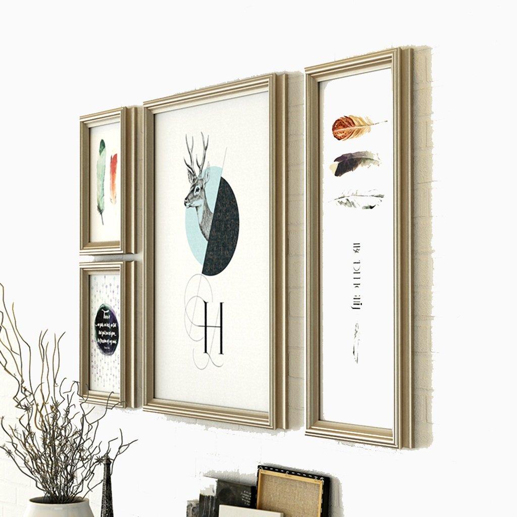 ASL Sala de estar Pinturas decorativas Pintura Dormitorio de combinación Dormitorio de estilo americano Pinturas Moderno Entrada simple Mural Restaurante Pinturas decorativas calidad ( Color : A )