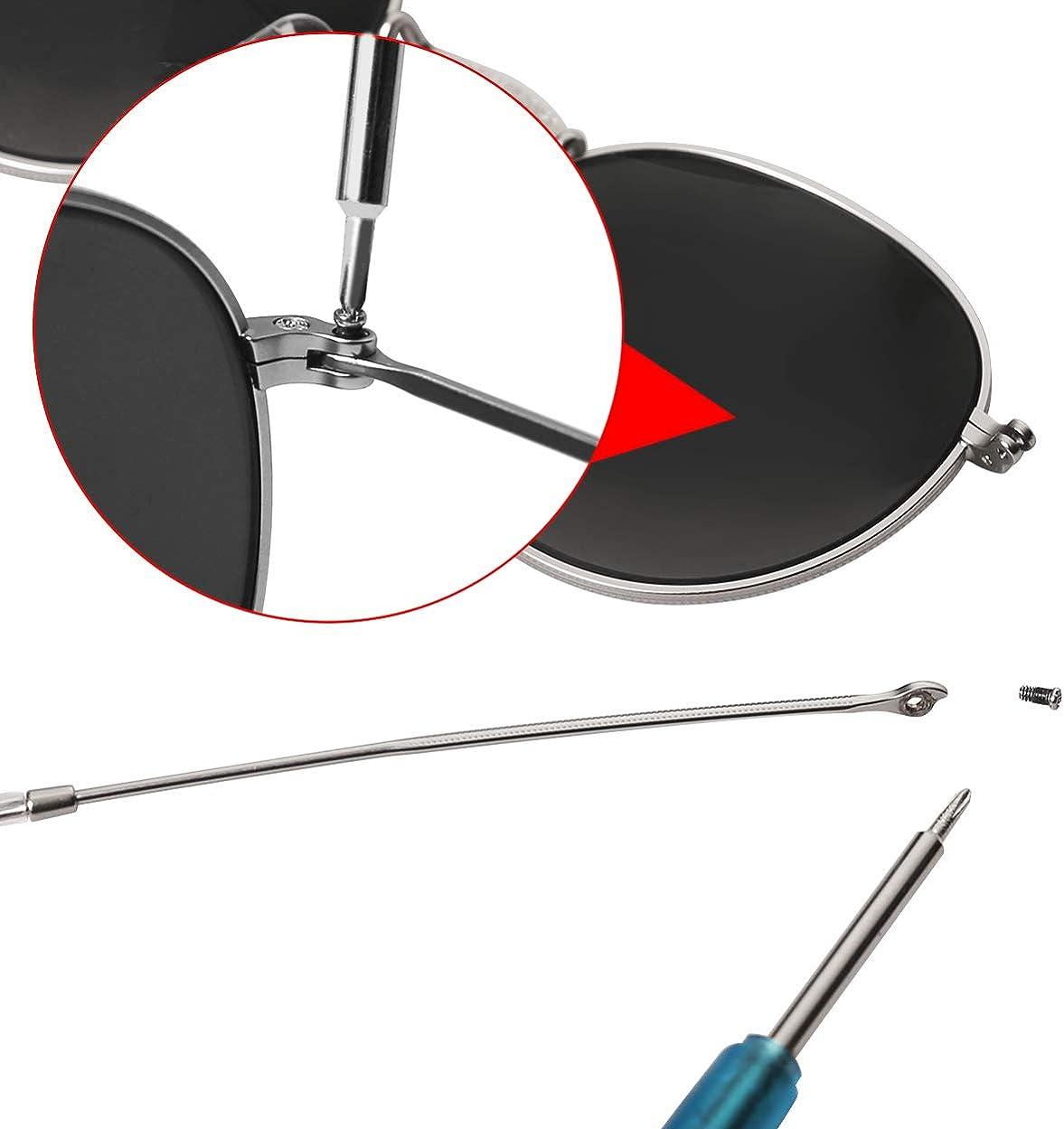 FOOUS Lentes de repuesto para gafas Ray-Ban Aviator RB3025 ...