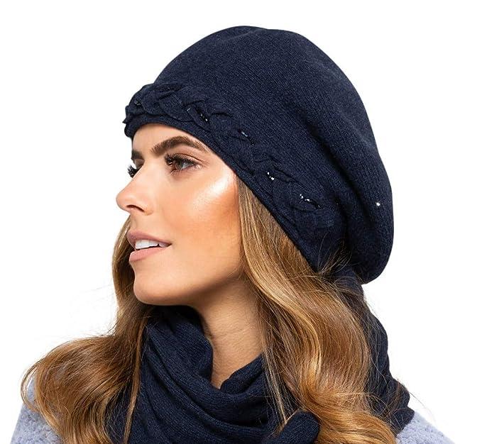 Kamea Bolzano - Gorro de lana para mujer, para otoño e invierno ...