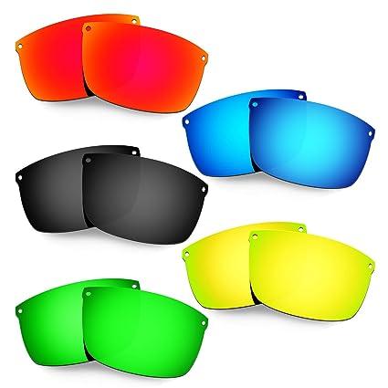 HKUCO Mens Replacement Lenses For Oakley Carbon Blade Red/Blue/Black/24K Gold Sunglasses rlMKpbuC