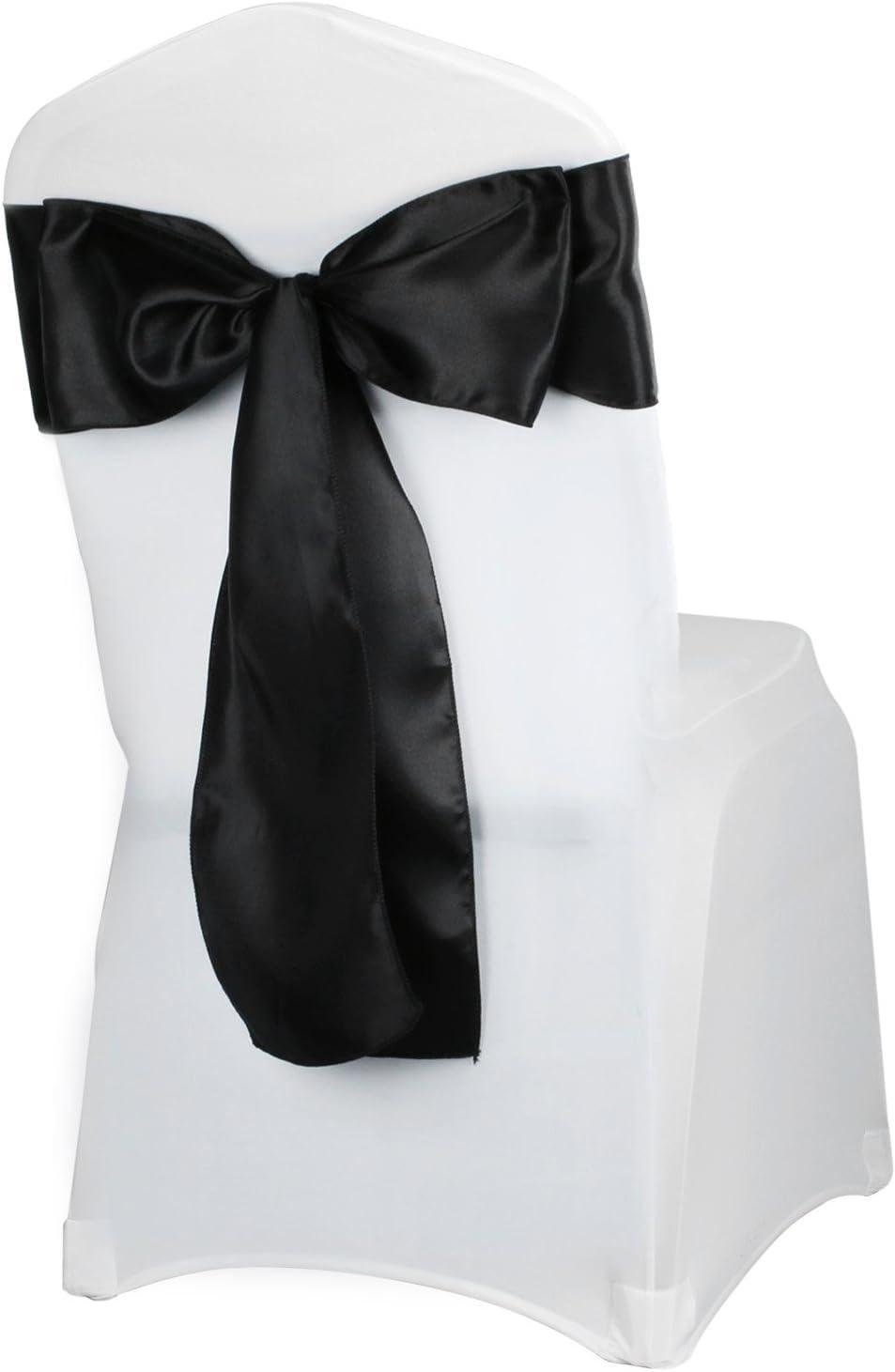 vlovelife 100/Lila Satin Stuhl Sch/ärpe B/ögen Dekoband Bankettstuhl Krawatte Motiv Schleife Hochzeit Party Geburtstag Dekoration gold