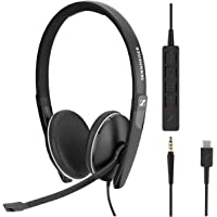 Sennheiser SC 165 USB-C (508356) - Double-Sided (Binaural) Headset for Business Professionals | with HD Stereo Sound…