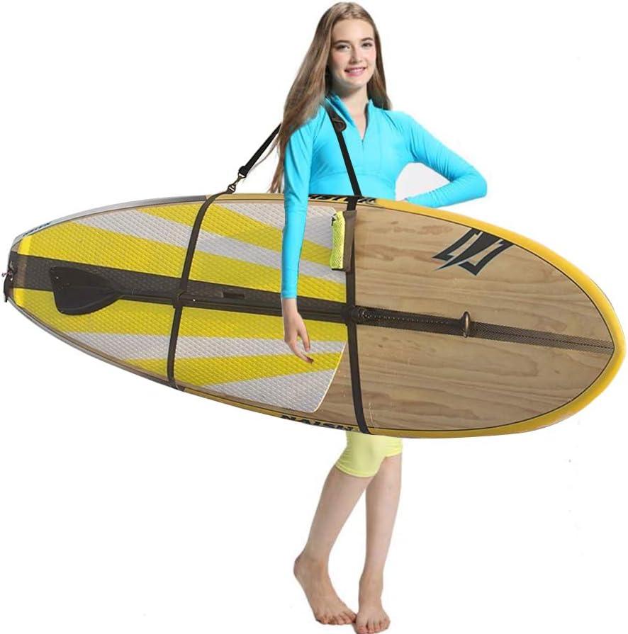 Ultrafun Paddle Board Strap Portable Adjustable Surfboard SUP Kayaks Canoe Shoulder Sling Carrier Strap