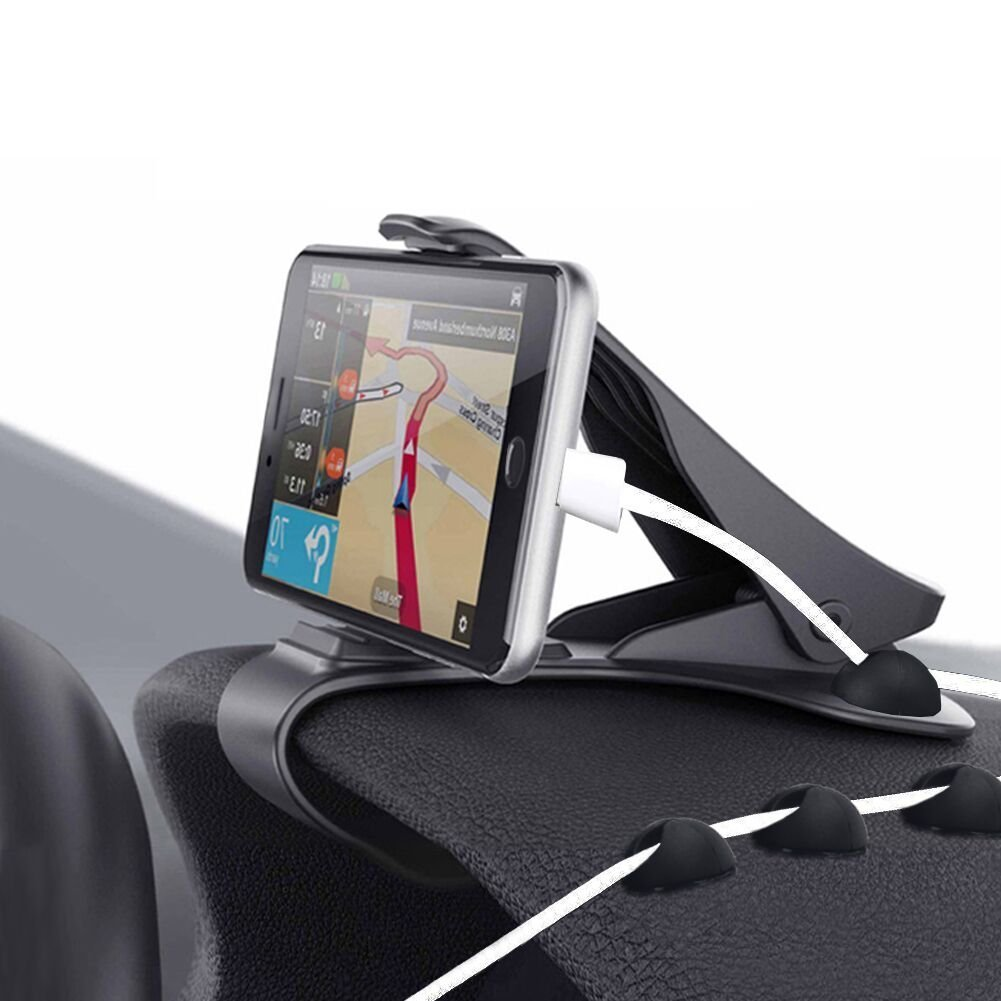 Zenoplige soporte para automóvil soporte para teléfono de coche pinza sujeta móvil