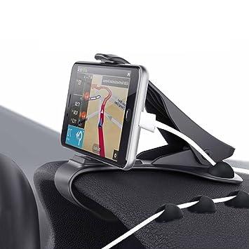 203baf30221 Zenoplige soporte para automóvil soporte para teléfono de coche pinza  sujeta móvil para coche soporte móvil coche para el teléfono/smartphone  compatible con ...