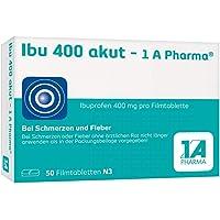 Ibu 400 akut-1A Pharma 50 stk
