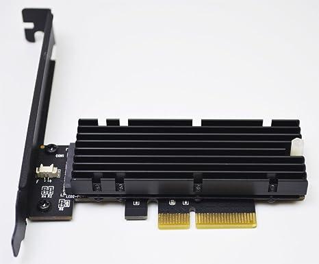 NVMe M.2 NGFF SSD to PCI-E PCI express3.0 16x x4 adapter riser card converter VG