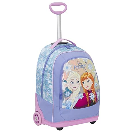 190ab944e6 BIG TROLLEY DISNEY - FROZEN Magic Star 2018-2in1 - Zaino con spallacci a  scomparsa