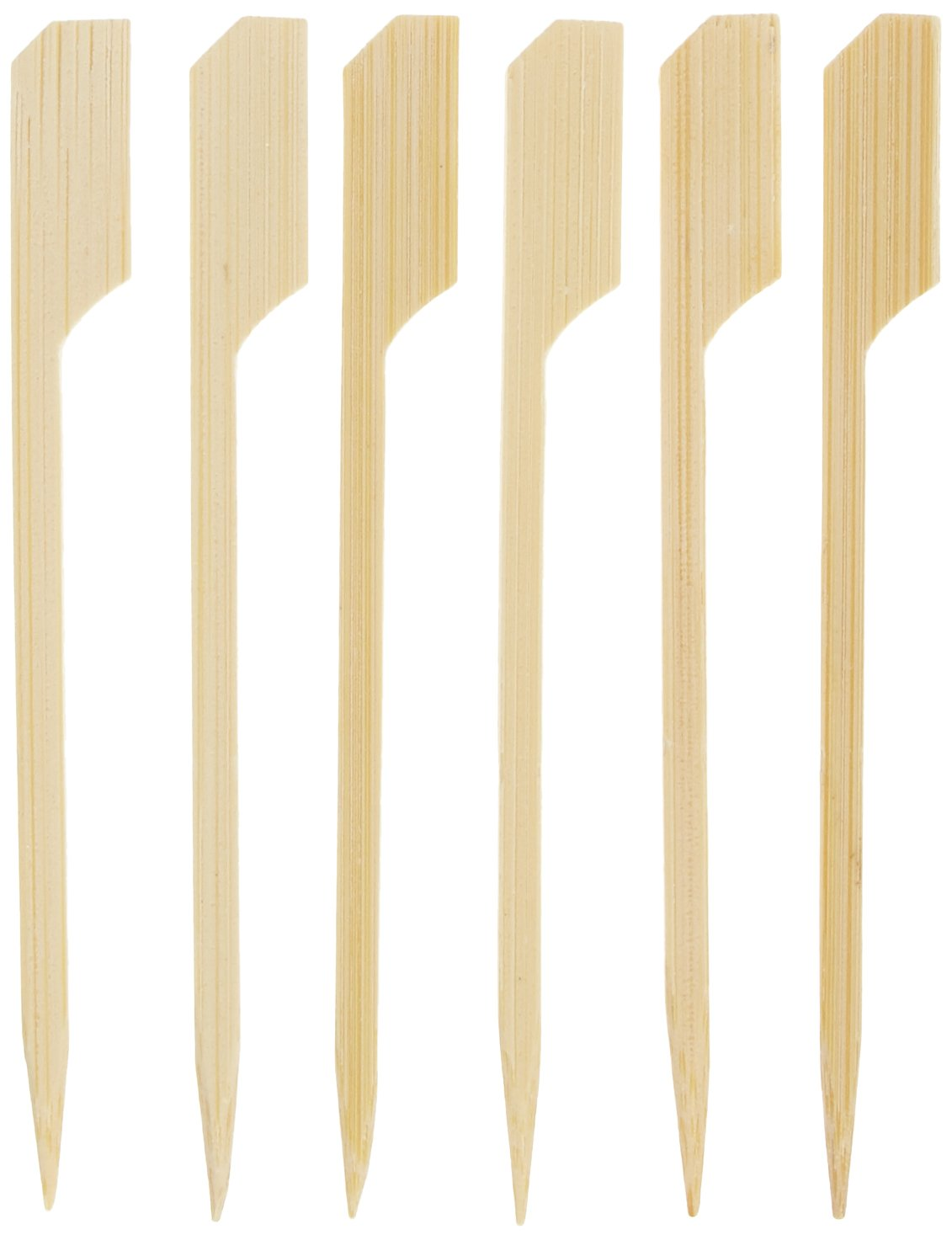 90 mm 100 St/ück in Spenderbox Finger-skewers Bambus IMS Party 302682 Spie/ße