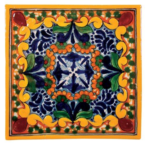Hand Painted Talavera Tile - Golondrina