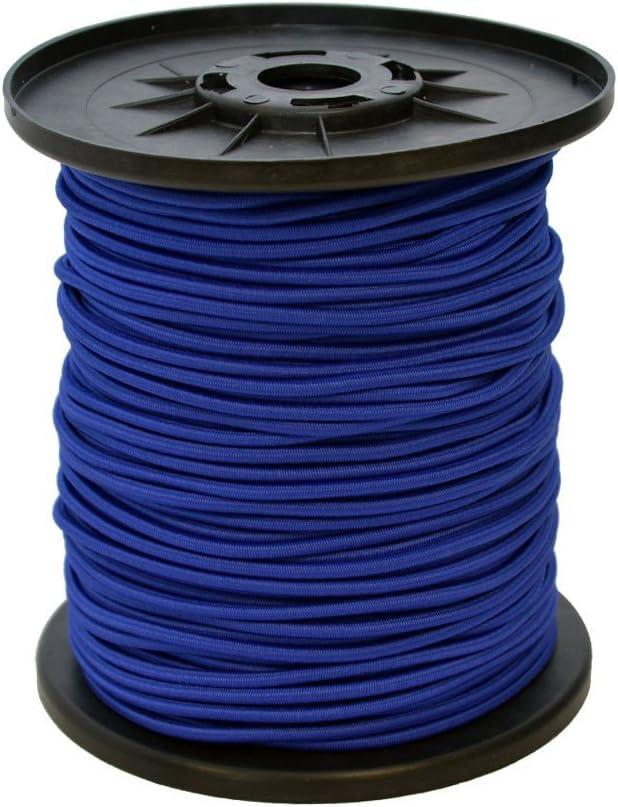 Expanderseil 10 m Blau 4 mm Gummiseil Gummischnur Spannseil Planenseil Gummileine elastisches Seil spannen und befestigen