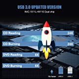 External CD DVD Drive for Laptop PC,LinGear USB DVD