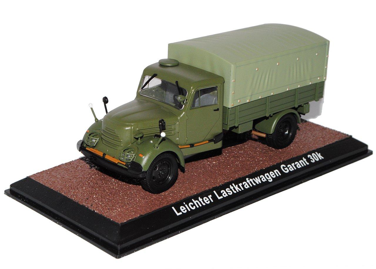 Atlas Leichter Lastkraftwagen Garant 30K NVA DDR Arme Arme DDR 1/43 Modell Auto mit individiuellem Wunschkennzeichen 876904