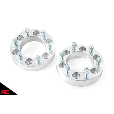 """Rough Country 10086 1.5"""" Wheel Spacers Black (fits) 1977-1987 Chevy GMC C10/K10 C15/K15 