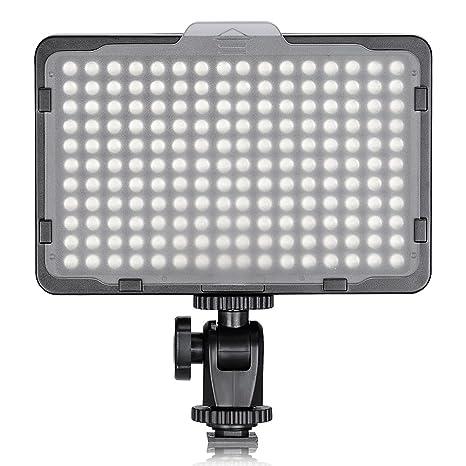 Neewer 176 LED Luz LED Video Cámara Ultrabrillante 3200-5600K ...