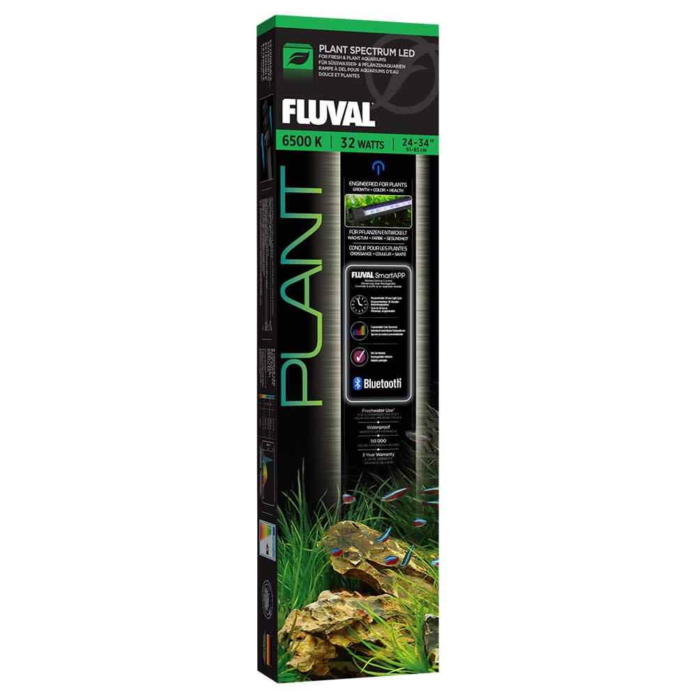 Plant Spectrum Fluval Bluetooth Freshwater Light LED (24'' - 34'') by Fluval