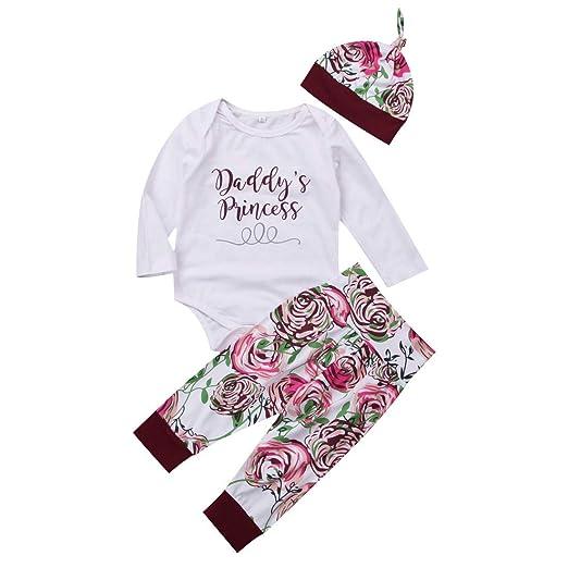 2751a21d8a7b4 3Pcs/Set Newborn Baby Girl Boy Long Sleeve Elephant Bodysuit + Geometric  Pants + Headband
