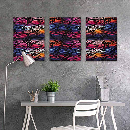 Oil Painting Modern Wall Art Posters,Halloween Mexican Sugar