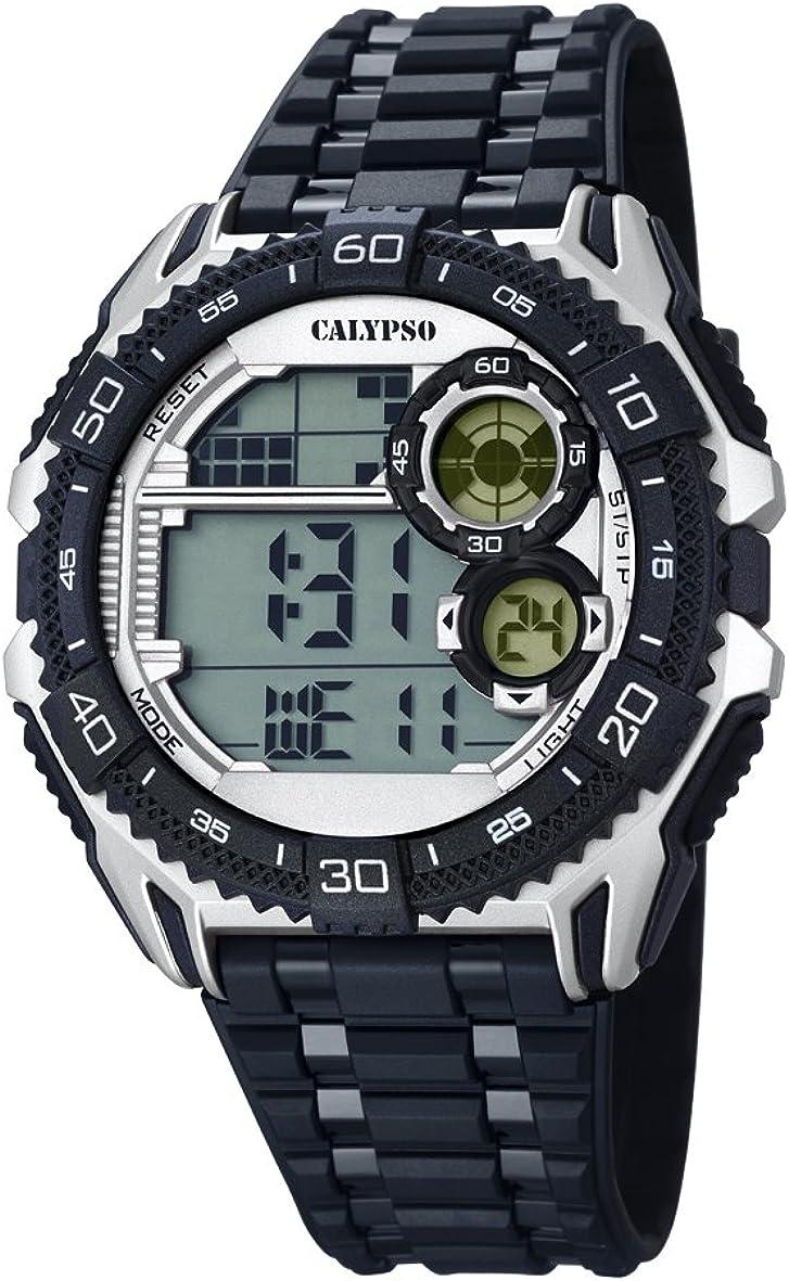 Calypso Watches Reloj Digital para Hombre de Cuarzo con Correa en Caucho K5670_1