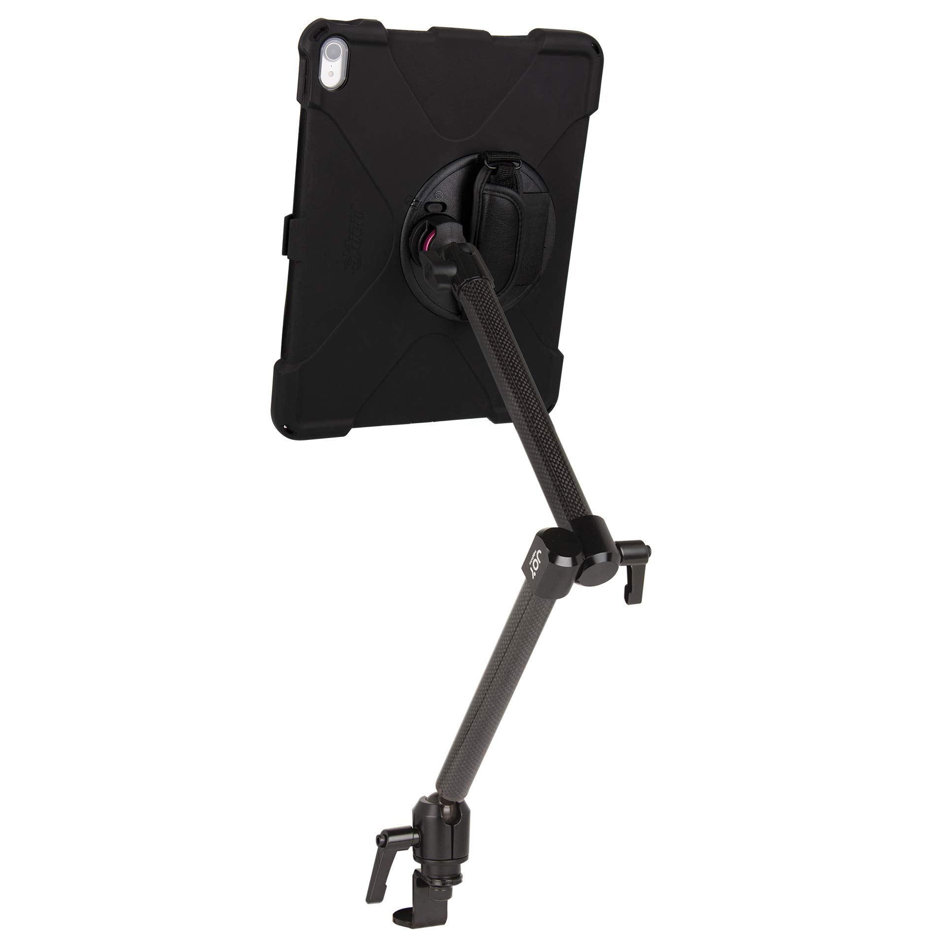 The Joy Factory MagConnect Carbon Fiber Car/Truck Seat Bolt Mount w/aXtion Bold MP Water-Resistant Rugged Shockproof Case iPad Pro 12.9'' [3rd Gen], Built-in Screen Protector, Hand Strap (MWA4105MP) by The Joy Factory (Image #7)