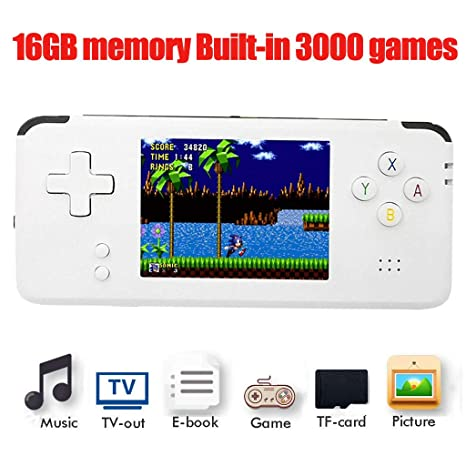 Cocal portable handheld classic retro game console, support neogeo.