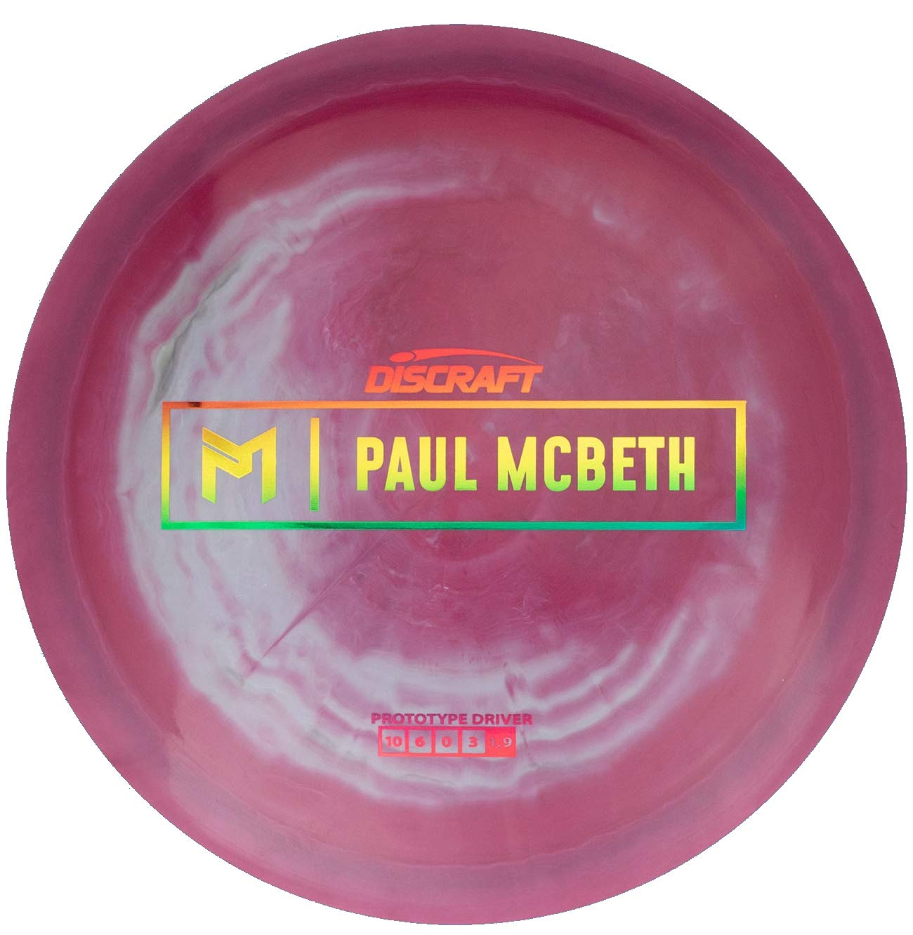 Discraft Limited Edition Paul McBeth Signature Prototype ESP Anax Distance Driver Golf Disc [Colors May Vary] - 170-172g by Discraft Golf Discs