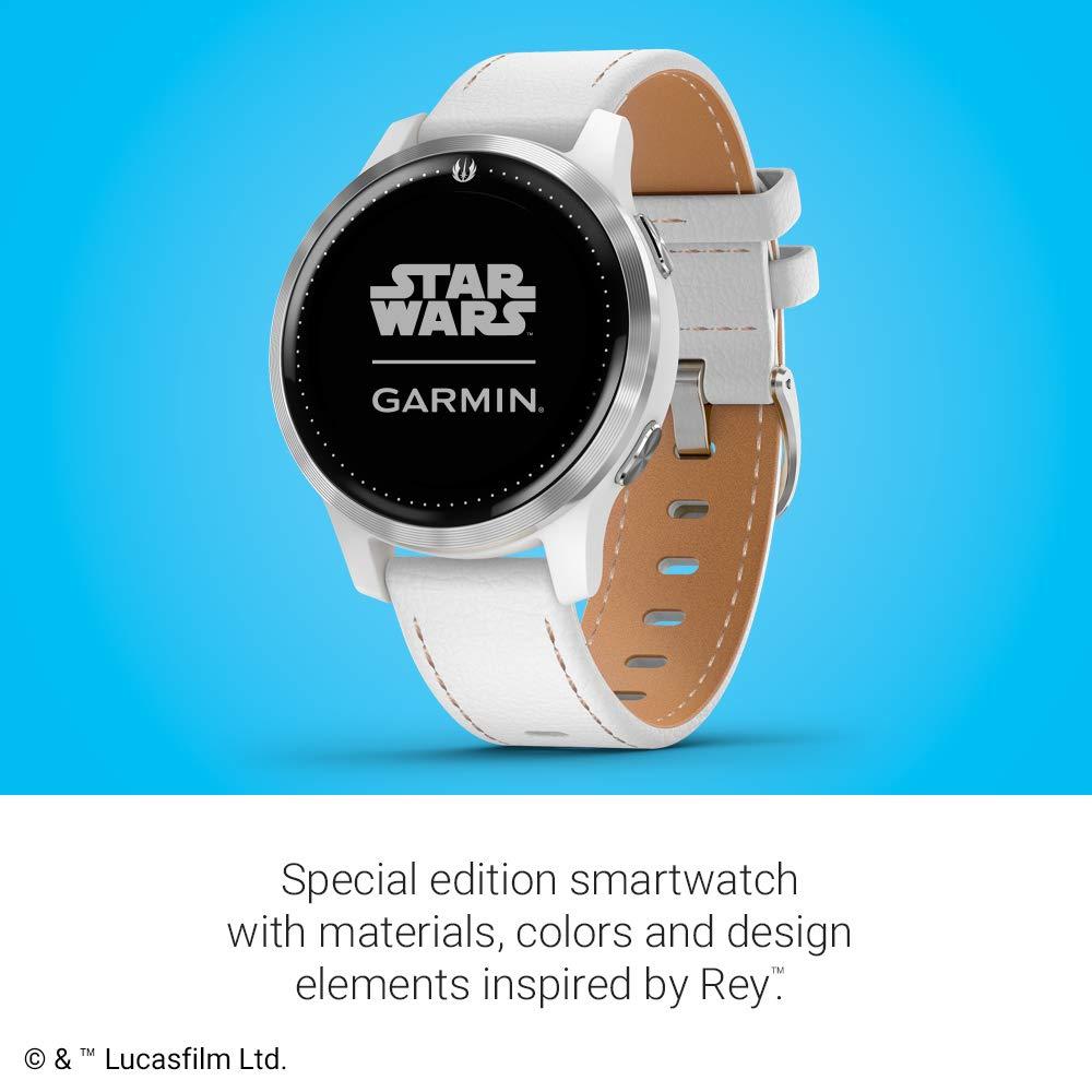 Garmin Legacy Saga Series, Star Wars Rey Inspired Premium ...