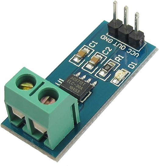 Sodial R Elektrische Teile 30a Bereich Stromsensormodul Acs712 Auto