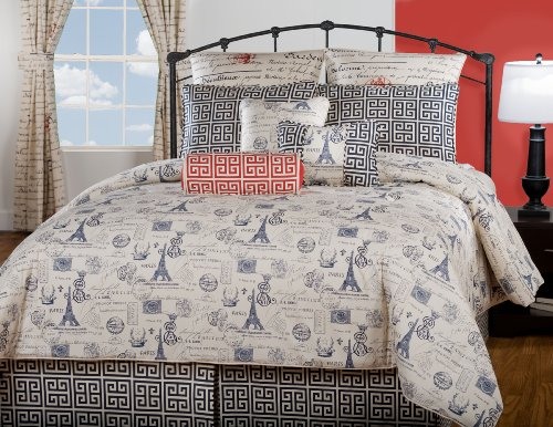 Victor Mill Paris Comforter Set