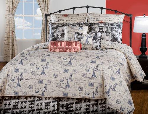 Victor Mill Paris Comforter Set