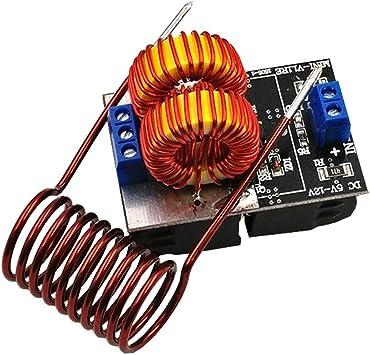 Wenhu 5-12V 120W Mini Placa de Calentamiento por inducción Calentador de Alta frecuencia Conductor de Escalera de Jacob: Amazon.es: Deportes y aire libre